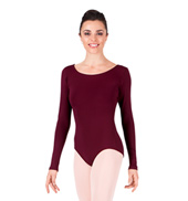 Adult Basic Long Sleeve Leotard