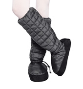 Womens Tall Quilted Warm-up Boots