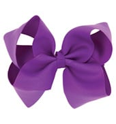 Fabric 6 Bow Hair Clip