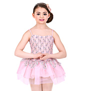 Fanciful Girls Tutu Dress
