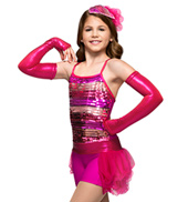 Dazzle Doll Girls Unitard Costume