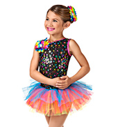 Lifes A Happy Song Girls Tutu Dress
