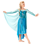 Let It Go Adult Long Sleeve Dress