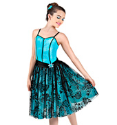 Moonlight Sonata Girls Romantic Tutu Dress
