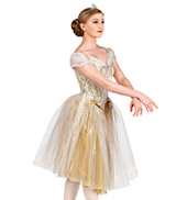 On the Steps of the Palace Adult Romantic Tutu Dress