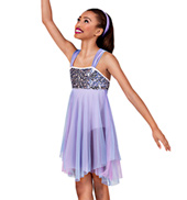 Taking Chances Girls Handkerchief Dress