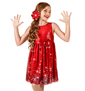 Let Me Be Your Star Girls Tank Dress