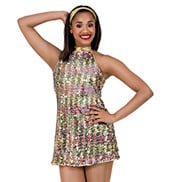 Dancing Queen Adult Sequin Dress