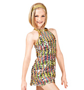 Dancing Queen Girls Sequin Dress