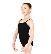 Child Square Neck Camisole Dance Leotard