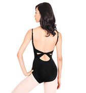 Adult Twist Back Camisole Cotton Dance Leotard