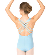 Adult Triple Strap Tank Dance Leotard
