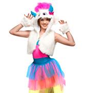 Snow Monster Adult Costume Set