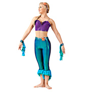Part of Your World Adult Unitard Costume