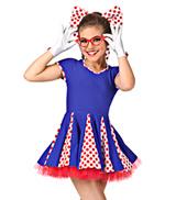 At the Hop Girls Cap Sleeve Dress