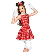 Hey Mickey Girls Costume Set