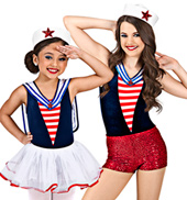 Ahoy Matey Girls Costume Set