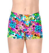 Child Psychedelic Dance Shorts