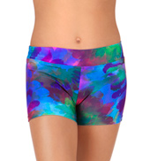 Child Feathers Dance Shorts