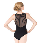 Child Gamma Tank Powermesh Back Leotard