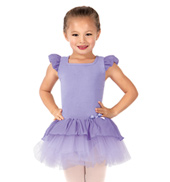 Girls Flutter Sleeve Tutu Dress