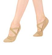 Mens Stretch Canvas Ballet Slipper