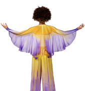 Girls Worship Winged Shrug