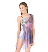 Girls Sequin & Mesh Camisole Dress