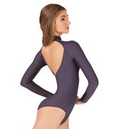 Adult Azel Mock Neck Long Sleeve Leotard