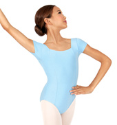 Girls Odalia Short Sleeve Leotard