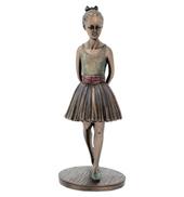 Ballerina Reviewing the Class Figurine