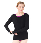 Adult Conopus Open Back Long Sleeve Ballet Sweater
