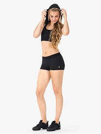 Adult Moisture Wicking Elastic Waist Shorts