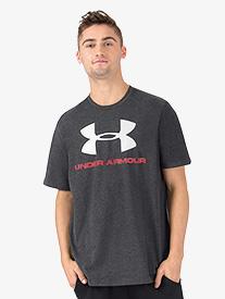 Mens Short Sleeve Logo Fitness Tee
