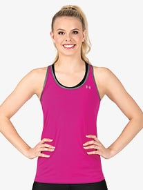 Womens HeatGear Racerback Active Tank Top