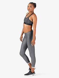 Womens Cropped Workout Leggings