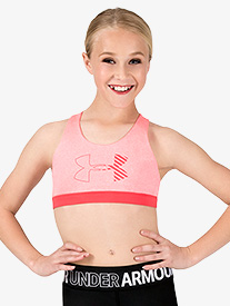 Girls Graphic Logo X-Back Sports Bra Top