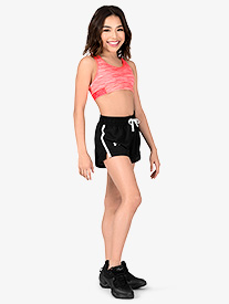 Girls Sprint Drawstring Athletic Shorts