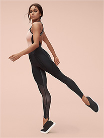 Womens Misty Copeland Signature Athletic Unitard