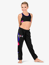 Girls Fleece Slim Leg Active Sweat Pants
