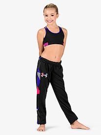 Girls Fleece Slim Leg Active Sweat Pants