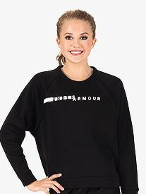 Womens Rival Fleece Crew Workout Sweater