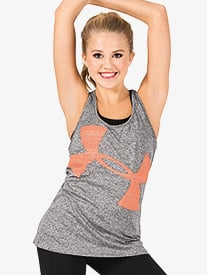 Womens Tech Logo Fitness Tank Top