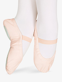 Child Star Split Canvas Split-Sole Ballet Shoes