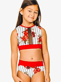 Girls Avery Dual Print Dance Briefs