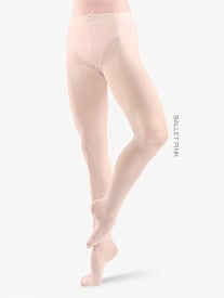 Adult Studio Basics Footed Tights