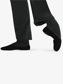 Mens Romeo Canvas Split-Sole Ballet Shoes