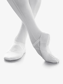 Mens Canvas Split Sole Ballet Slipper