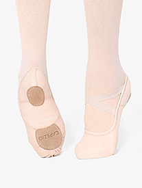 Girls Hanami Canvas Split Sole Ballet Slipper