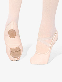 c60f1cd6e16 Adult Hanami Canvas Split Sole Ballet Slipper